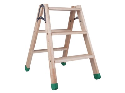 Wooden stepladders