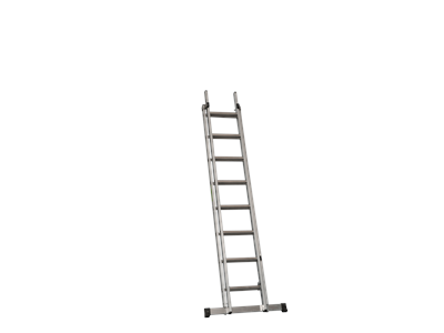 Aluminium extension ladder 2 x 8 steps 4,2 m. SUPER PRO