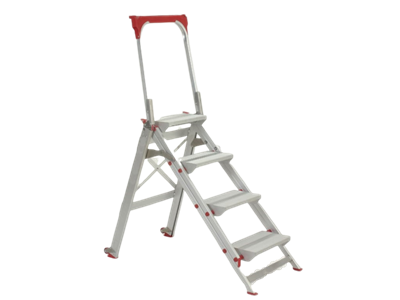 Aluminium work platform 5 steps foldable
