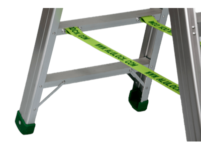 Aluminium stepladder 8 steps SUPER PRO