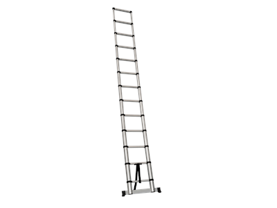 Telescopic ladder 3,8 m. 13 rungs