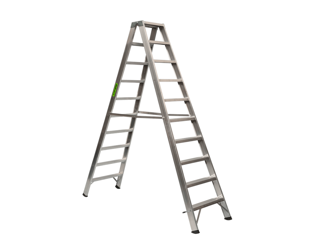 Aluminium trestle ladder 2 x 10 steps SUPER PRO