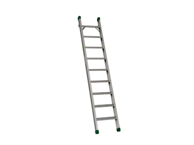 Single ladder 80 mm ergo 7 steps 2 m